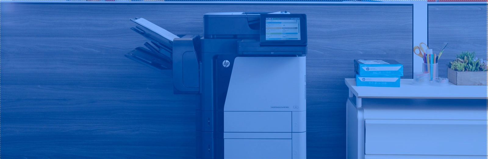 HP LaserJet M680 in Office