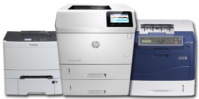 HP Laser Printer-Xerox Laser Printer-Lemark Laser Printer.png